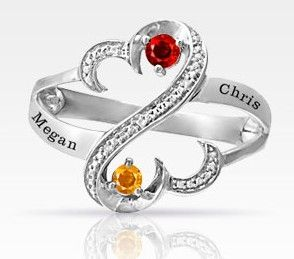 Open Hearts By Jane Seymour Promise Ring