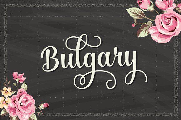 Bulgary (25% Off) by artimasa on @creativemarket