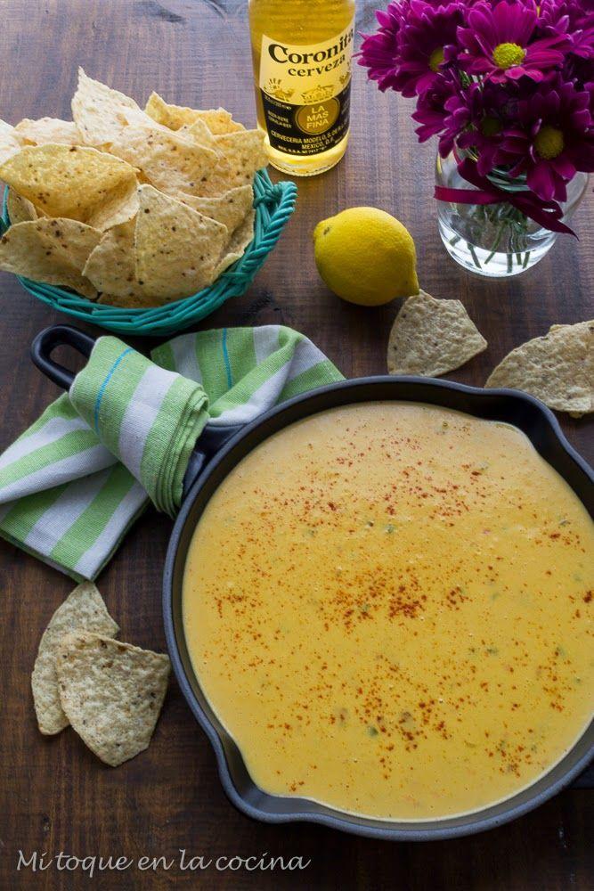 Mi toque en la cocina: Salsa de queso para nachos