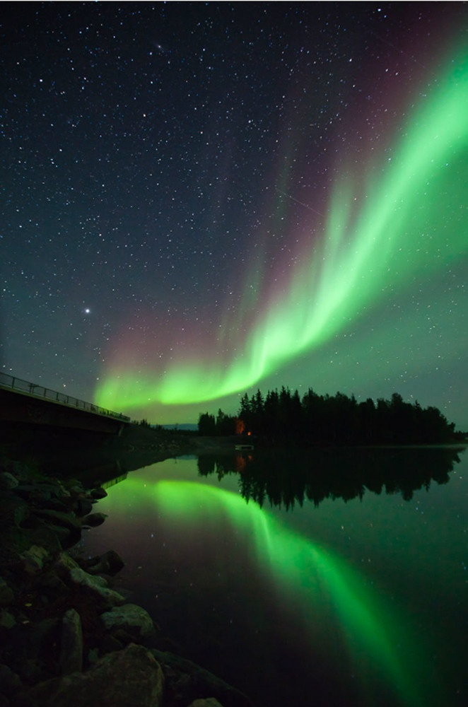have you ever heard the northern lights? I have