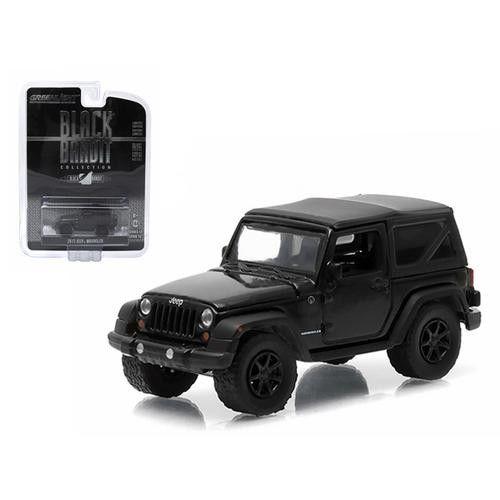 2012 Jeep Wrangler Black Bandit Series 12 1/64 Diecast Model Car by Greenlight