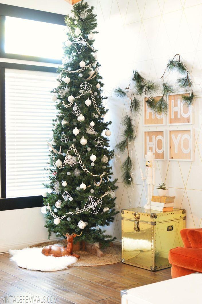 best 25 skinny christmas tree ideas on pinterest. Black Bedroom Furniture Sets. Home Design Ideas