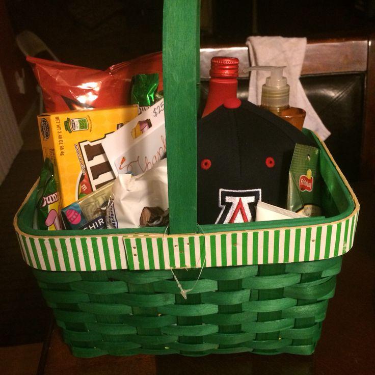 Custodian appreciation basket goodies appreciation