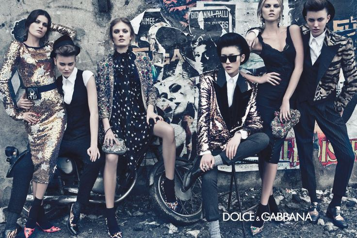I always enjoy D&G adds. They are generally on the edge of offensive.