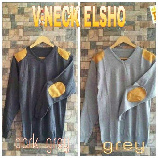 sweater rajut V-NECK ELSHO,  harga 41k www.ramailancar.com www.facebook.com/tokobajurajutmurah 0857 2212 6318