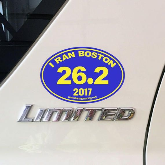 Best Boston Marathon Shoe Charms Car Magnets Decals - Custom car magnets decals