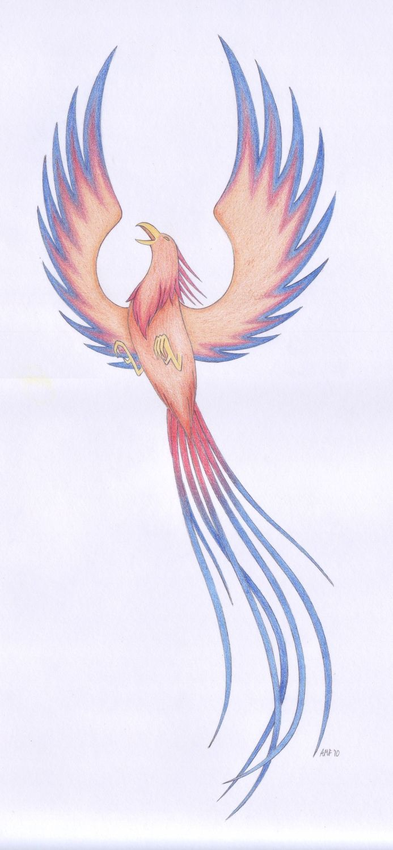 Phoenix tattoo by Fires-At-Midnight.deviantart.com on @deviantART
