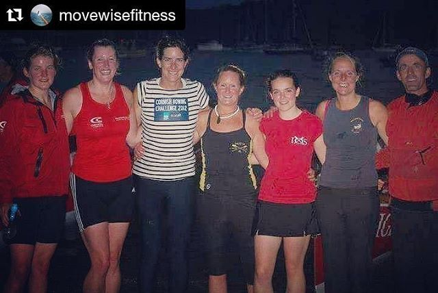 Dame Katherine Grainger at the Cornish Rowing Challenge 2012 (3rd person you see in the photo)