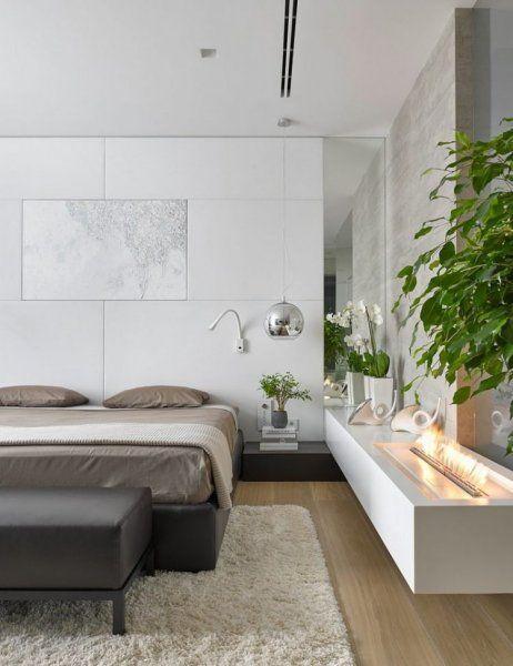 modern lakás természettel harmonizáló anyagok / Modern Bedroom