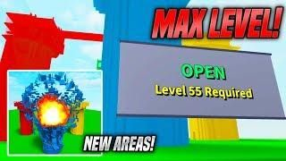 New Areas In Destruction Simulator Update Max Level Roblox
