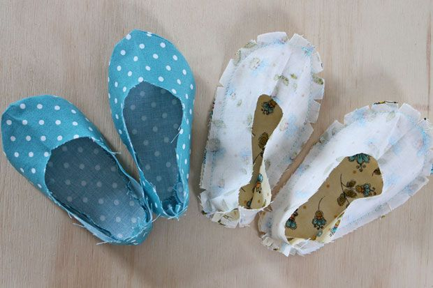 Mary Jane baby shoes tutorial with lots of pictures