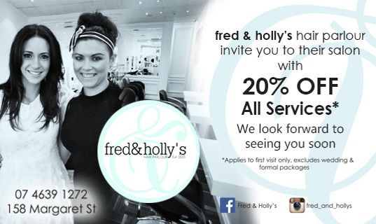 fred and hollys hair parlour special
