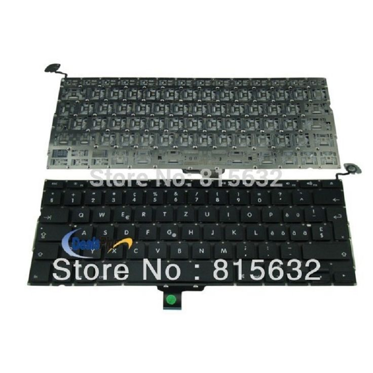 "95% New Keyboard CH Switzerland 2009 2010 Year For MACBook Pro 13.3"" A1278"