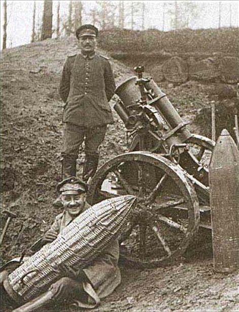 WWI, German 'Minenwerfer'
