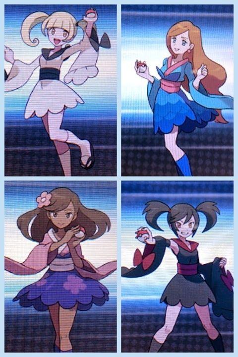 Furisode Girls Pokemon X Amp Y Pokemon Pinterest Pok 233 Mon Cosplay And Otaku