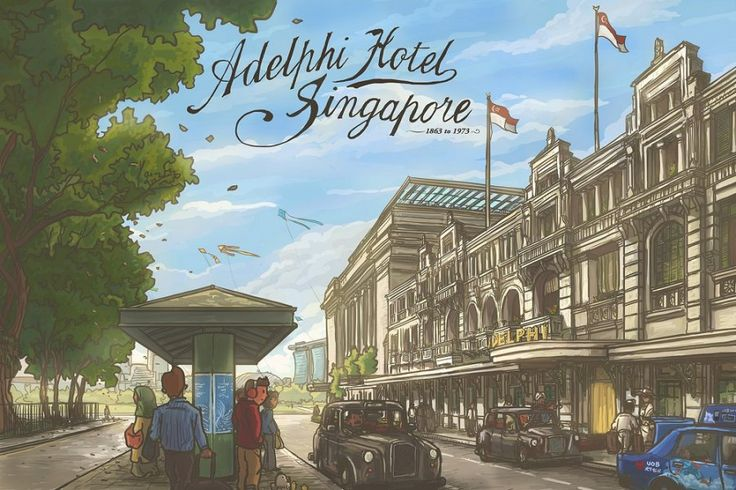 This illustrator preserves memories of Singapore's ever-changing landscape | SG Magazine Online