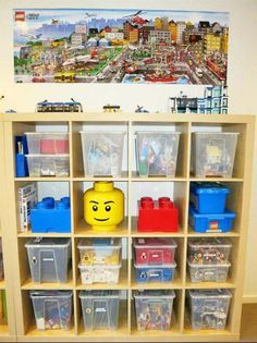 40 + Ehrfürchtig Lego Aufbewahrungsideen   Die organisierte Hausfrau