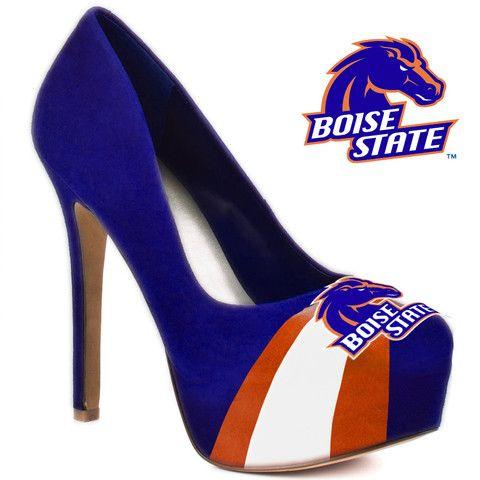 HERSTAR™ Women's Boise State Broncos High Heel Microsuede Pumps