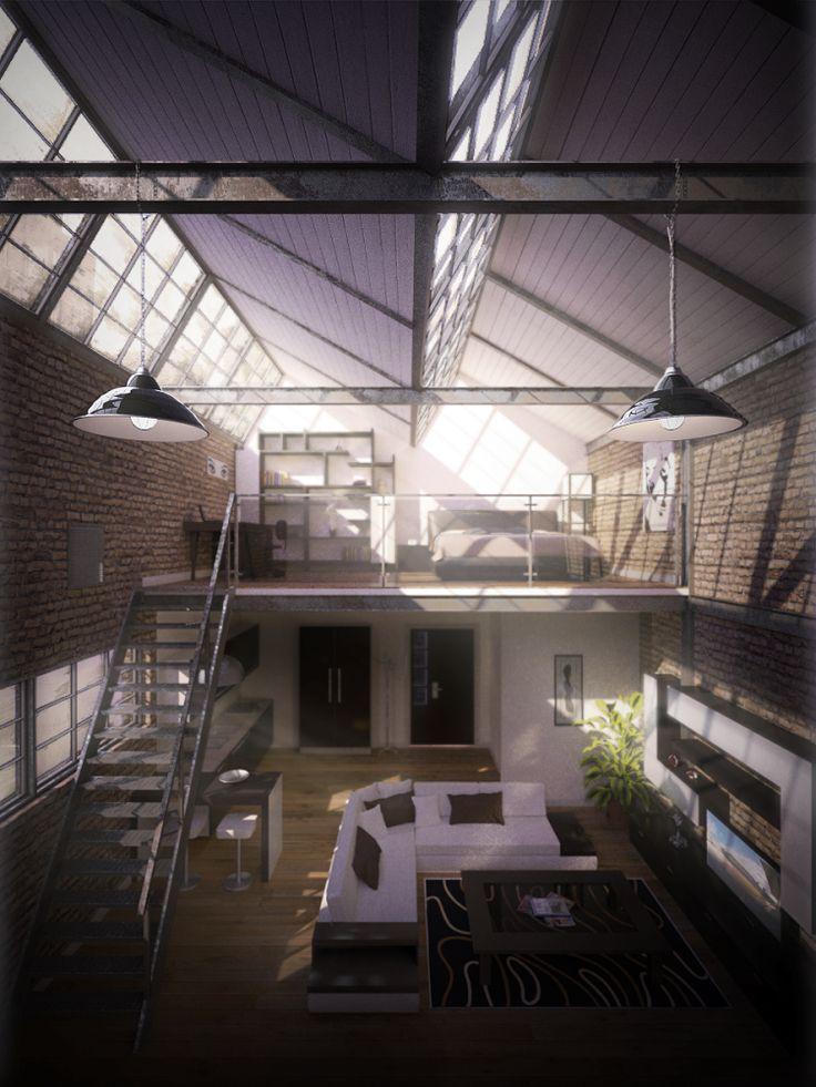 Old Factory Apartment by ~Speakerk on deviantART