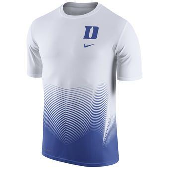 Nike Duke Blue Devils White Basketball Disruption Player Dri-FIT T-Shirt #bluedevils #duke #college