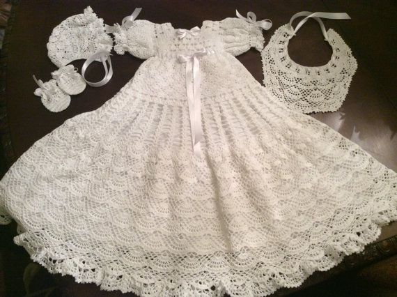 25+ best ideas about Crochet Christening Patterns on ...