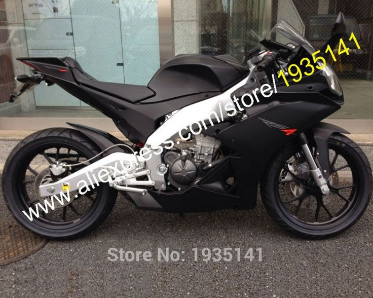 407.55$  Buy now - http://ali37s.worldwells.pw/go.php?t=32525984423 - Hot Sales,For Aprilia RS4 125 2011 2012 2013 2014 2015 Accessorie RS4 50 11-15 Matte Black Motorbike Fairing (Injection molding) 407.55$