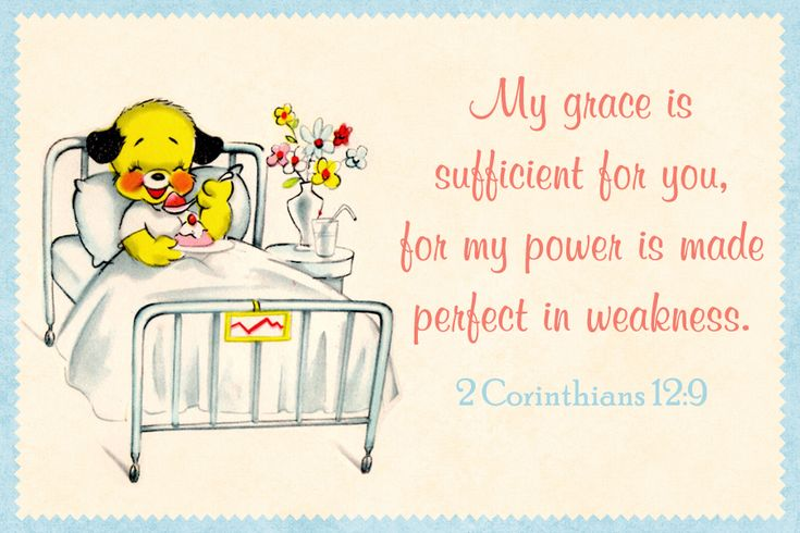 Get Well Card For Kids To Color With Bible Verse
