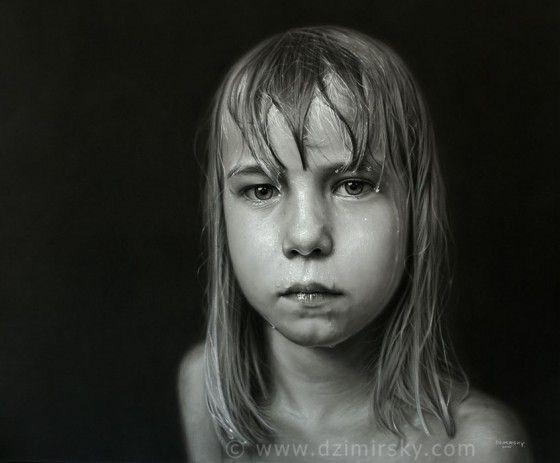 Photorealistic drawings by artist Dirk Dzimirsky.