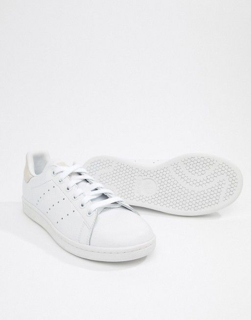 new style bdb11 ae397 adidas Originals   adidas Originals Stan Smith Sneakers In White And Pink