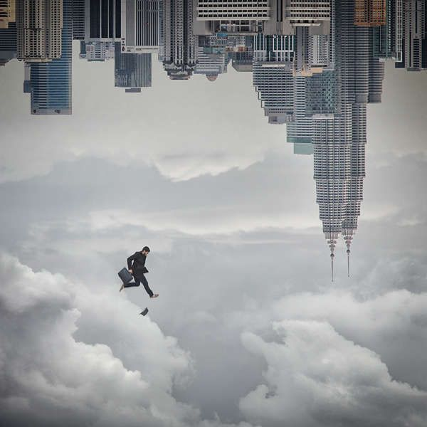 Surreal Gravity-Defying Images : hossein zare