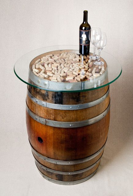 "Previous pinner wrote, ""17 DIY Useful And Smart Ideas: How To Re-purpose Wine Barrels."""