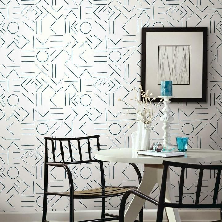 Down The Line Peel And Stick Wallpaper Peel And Stick Wallpaper Room Visualizer Grey Wallpaper Print