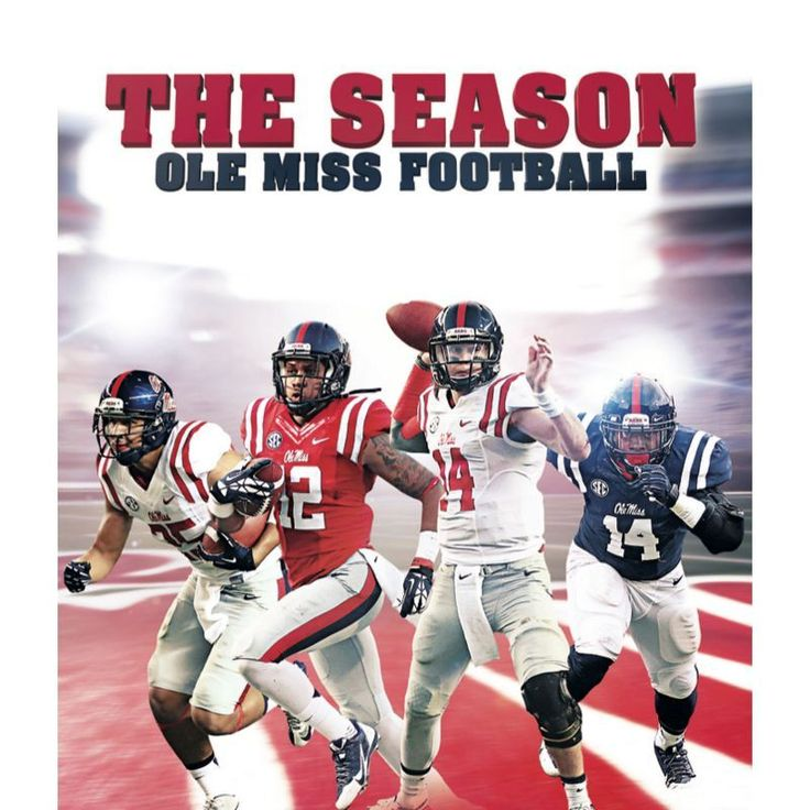 Ole Miss Rebels 2014 Season Overview Blu-ray, Team