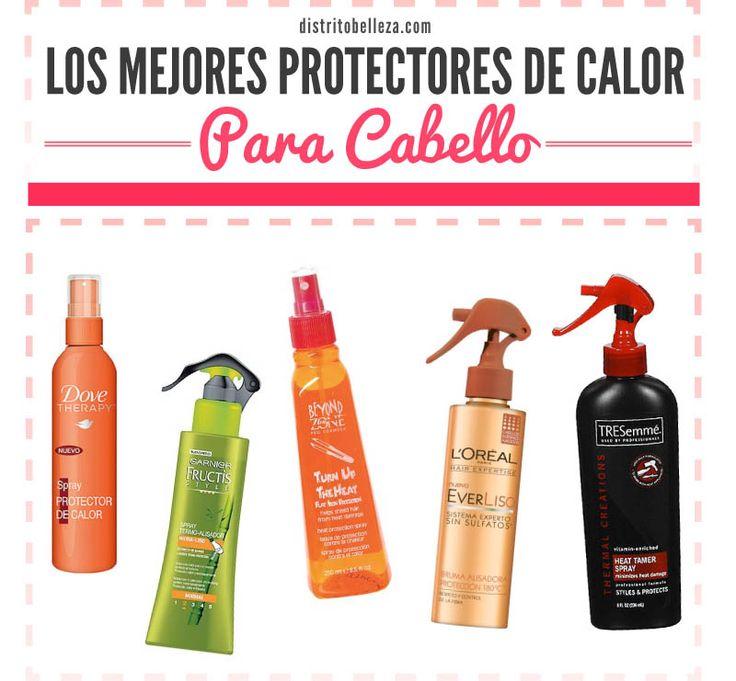 Si te planchas o aplicas cualquier tipo de calor a tu cabello este post es perfecto para ti, aquí puedes ver los mejores protectores de calor para cabello
