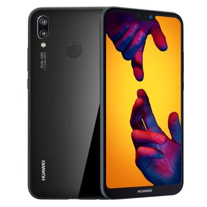 Huawei P20 Lite Noir 64go Smartphone Usb Et Fiches