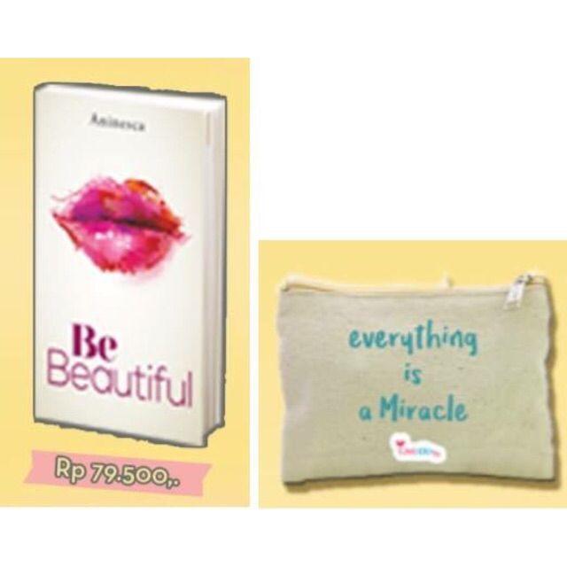Saya menjual Be Beautiful (Edisi TTD + Pouch) (Soft Cover, Tanda Tangan) oleh Aninesca seharga Rp79.500. Dapatkan produk ini hanya di Shopee! https://shopee.co.id/belanjabukubuku/131837446 #ShopeeID