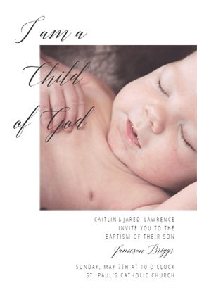 41 best printable baptism christening invitations images on child of god free baptism christening invitation template stopboris Image collections