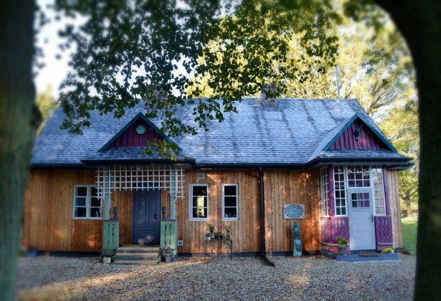 Dom w dawnej leśniczówce