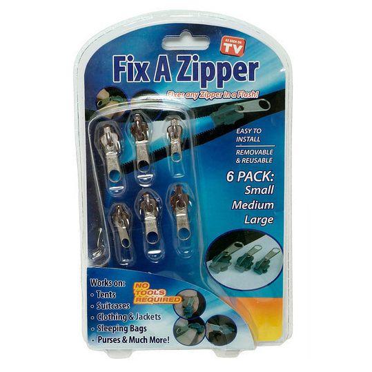 Onze nieuwste handige gadget: de Fix A Zipper rits reparatie set!  http://www.byblonde.nl/handige-gadgets/rits-reparatie-set