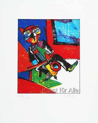 Otmar Alt - Kniegeiger (Cello)