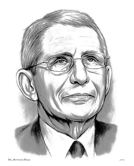 Dr Fauci By Greg Joens Doctor Caricature Drawings