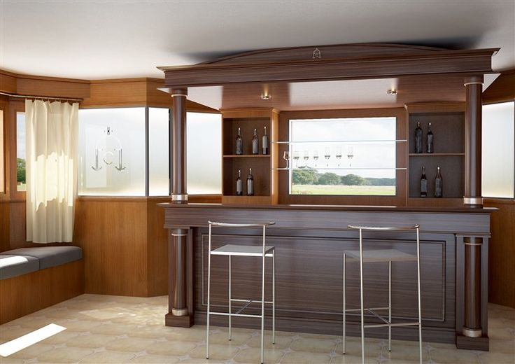 Bar de madera para casa buscar con google bares for Bar madera moderno