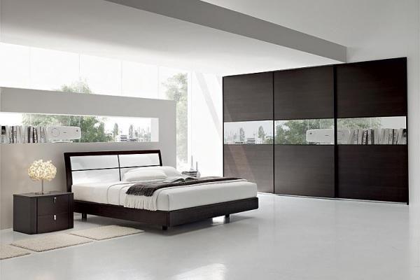 chambre moderne blanche | chambre à coucher design | chambre à ...