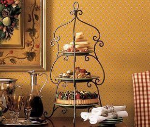 Iron Cake Stand Tieyi Snack Stand Wrought Iron Wedding