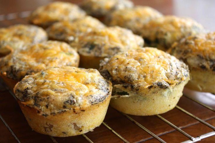 Gluten-free mini quiches