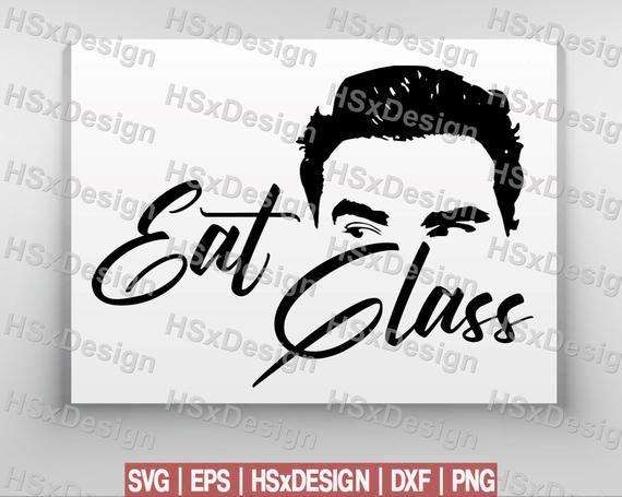 Eat Glass Schitt/'s Creek Vinyl Sticker Valentine/'s Day