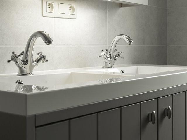 ... lavabo • Foto: www.thuisbest.be  ⌂ Badkamer ⌂  Pinterest
