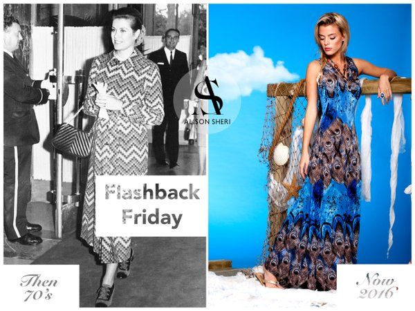 #GraceKelly wore #maxidresses to benefits, we love to wear them to usher in #spring and a long #EasterWeekend!