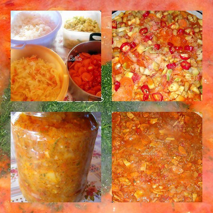 Ghiveci la Borcan- Lecso Telire | Retete Culinare - Bucataresele Vesele