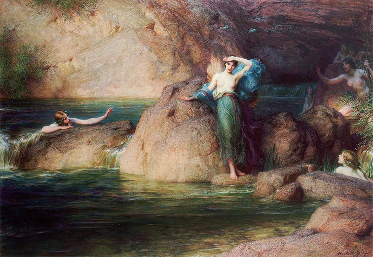 Herbert James Draper - Halcyone
